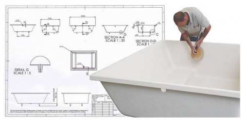 Bespoke bath design takes time but for those whose first concern is quality, it's a worthwhile investment